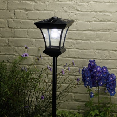 Solar Garden Post Lights Uk