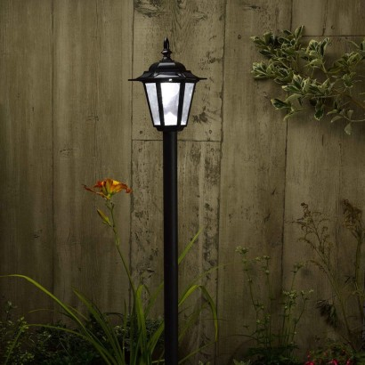 Solar Powered Garden Lamp Post