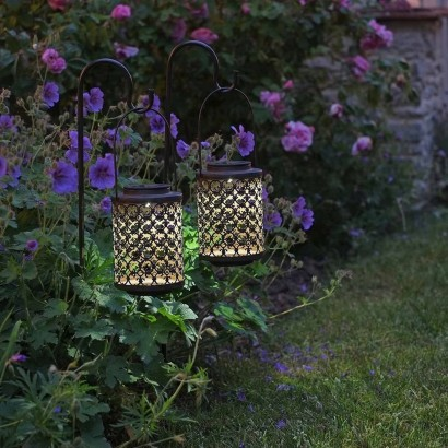 Amazing This Pair Of Solar Riad Lanterns Bring Moroccan Charm And Gentle Light To  Your Borders On Summer Evenings. Read More.
