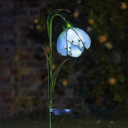Solar Snowdrop Garden Stake Lights