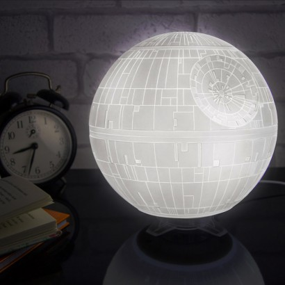 star wars death star led mood light. Black Bedroom Furniture Sets. Home Design Ideas