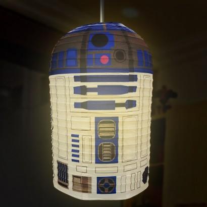 Beautiful Star Wars R2D2 Paper Lampshade