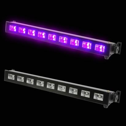 Uv blacklight led bar light uv 9 led bar light aloadofball Image collections