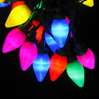 Old Christmas Light Bulbs