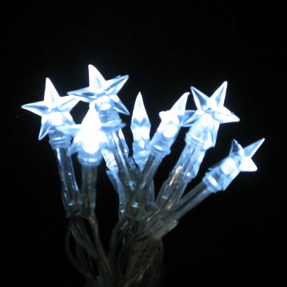 Battery Operated LED Star Fairy Lights