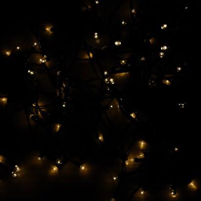 Warm White LED Solar Fairy Lights