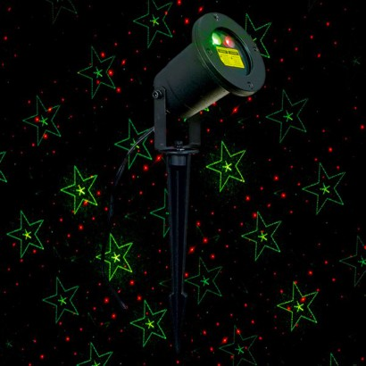 15cm Festive Outdoor Laser Projector