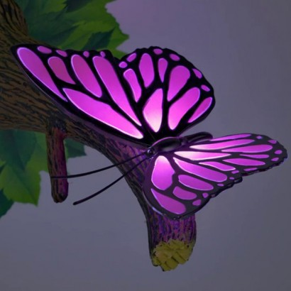 Wall Night Light Target : 3D FX Butterfly Deco Wall Light
