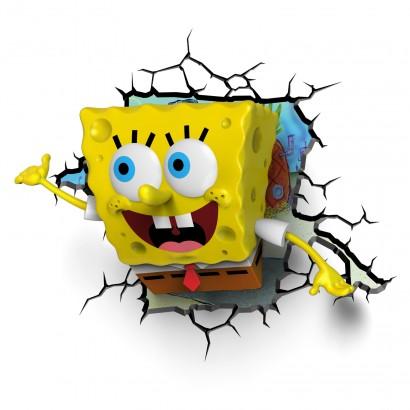 3D FX Spongebob Squarepants Night Light