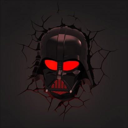 3d Fx Star Wars Darth Vader Wall Light