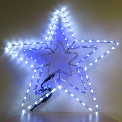 5m Led Star Rope Light Christmas Decoration