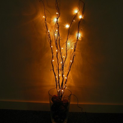 beaded branch lights indoor string lights string