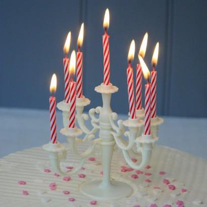 Cake Candelabra Decoration Jpg 410x410 Real Bday Candle