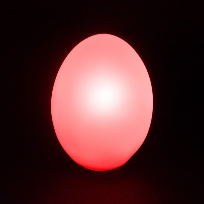 Squishy Glowing Egg : LED Colour Changing Egg Light