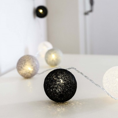 Cotton ball fairy lights uk