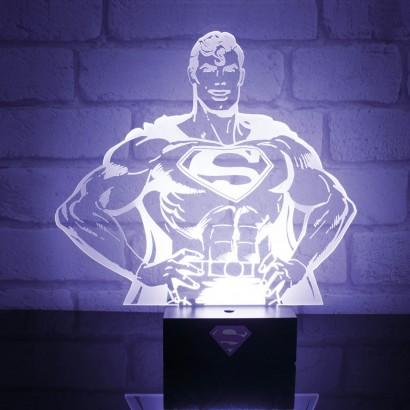 Superman Acrylic Superhero Light