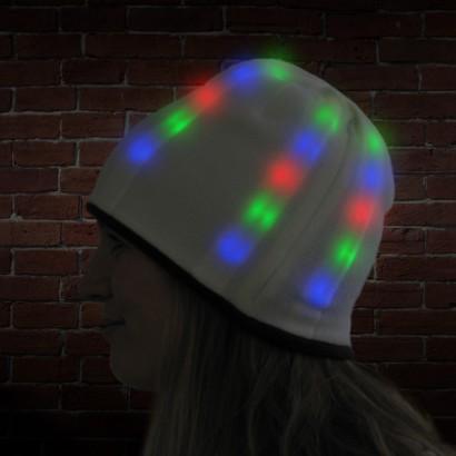 Light Up Reversible Beanie Hat