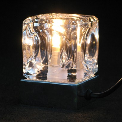 A Fantastic Feature During The Day And Striking Light At Night This Ice  Cube Table Lamp Has A Touch Sensitive Chrome Base So Itu0027s Easy To Switch On  And Off ...
