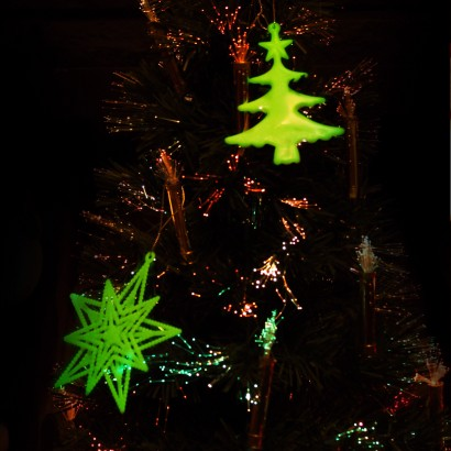 Glow Christmas Tree Decorations