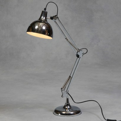 Large chrome poise desk lamp - Large anglepoise lamp ...