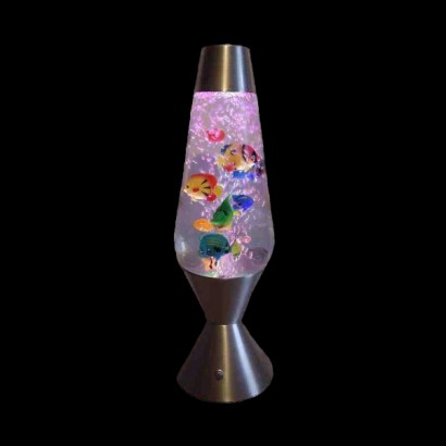 Colour Change Aquarium Lava Lamp