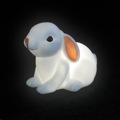 baby bunny battery night light. Black Bedroom Furniture Sets. Home Design Ideas