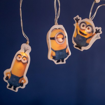 Battery Operated Minions String Lights