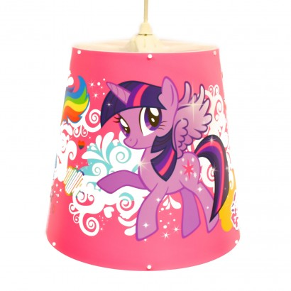 My little pony pink lampshade a great addition to a my little pony themed room this colourful lampshade features all of your favourite characters read more aloadofball Gallery