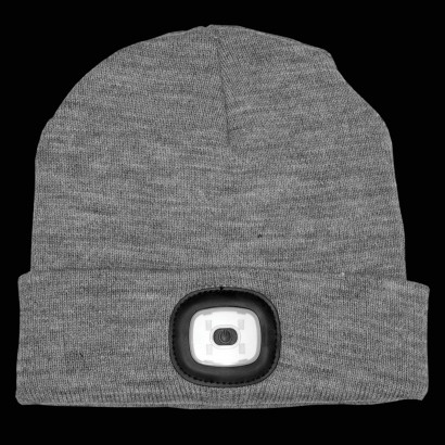 Usb Rechargeable Led Beanie Hat Torch