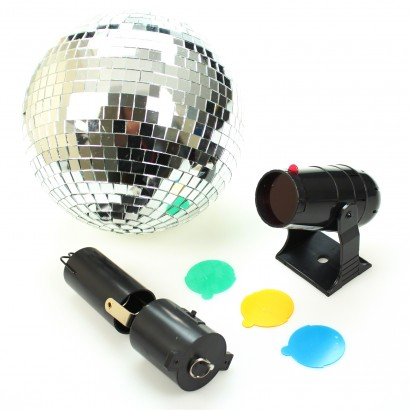 Disco mirrorball colour light set for Mirror projector review