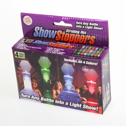Show stoppers led bottle stoppers for Show stopper equipment