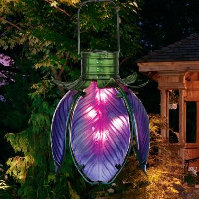 Hanging flower lights