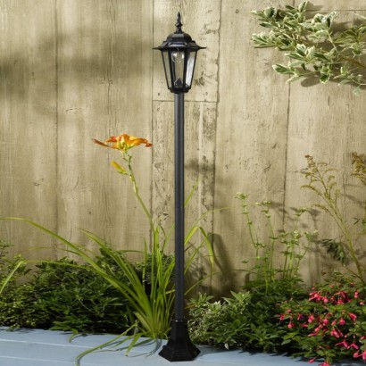 Garden Lamp Post Lighting Led Lights For Fence Post Home Outdoor