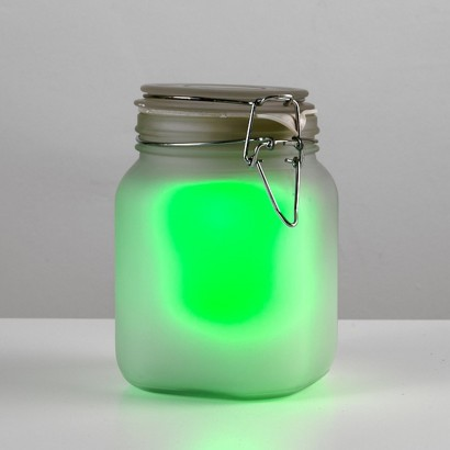 Solar Powered Jam Jar Garden Light