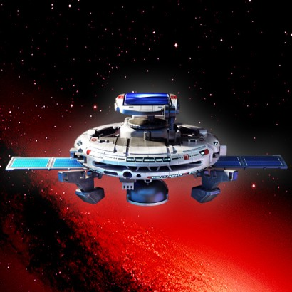 solar powered space station - photo #16