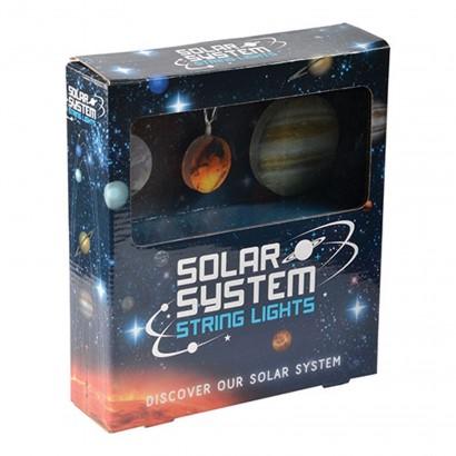 Funky Indoor String Lights : Space Solar System String Lights
