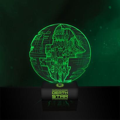 Star Wars Rogue One Death Star Lamp
