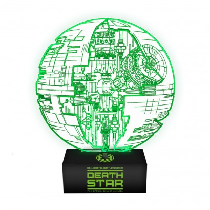 Star Wars Rogue One Death Star Lamp