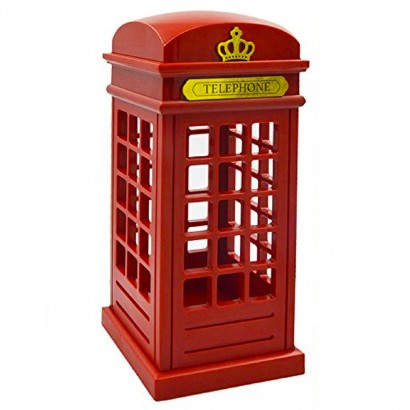 Retro telephone box light for Battery operated lights for craft booth