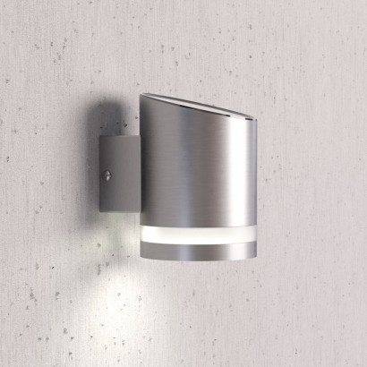 Solar Patio Wall Lights : Solar Powered Down Lighter Wall Light