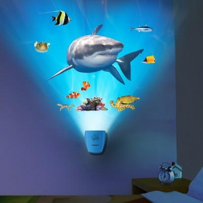 Wild Walls Shark Encounter Light Amp Sounds Wallscape