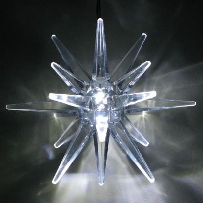 Image of 10cm Timer Star White