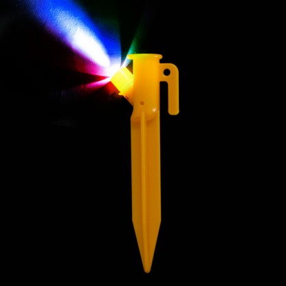 4 Colour Changing LED Tent Pegs