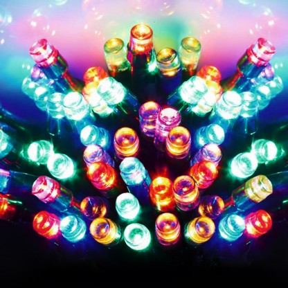 how to set timer on battery operated christmas lights