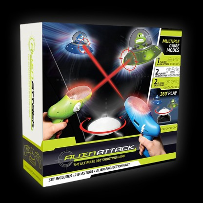 alien attack light game toys name and images