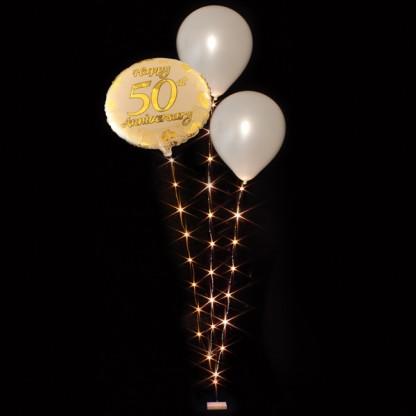 Led Balloon String Lights : Balloon Lite 3 Strand Warm White