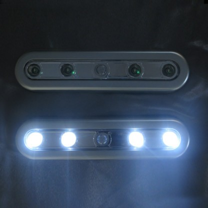 Battery led pir