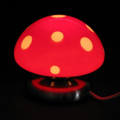 Ceramic Toadstool Lamp