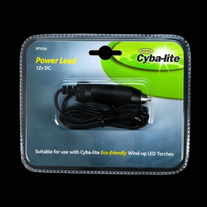 CybaLite 12V Eco Car Charger Lead