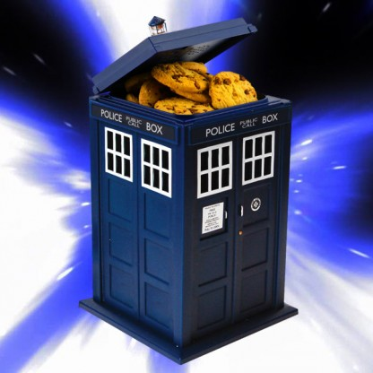 Dr who flashing tardis cookie jar - Tardis cookie jar ...
